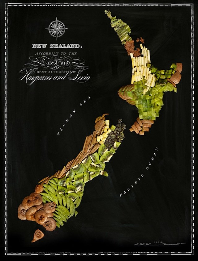 NZ food map