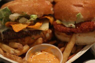 Burger at Chef On Call