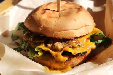 Burger at Sabada Grill