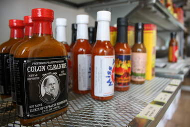 hot sauces colon cleanser