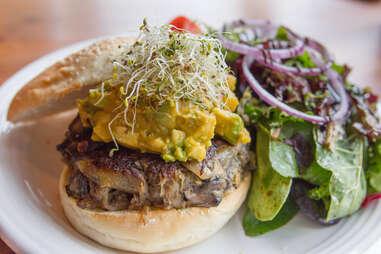 Greenwood Smokehouse burger
