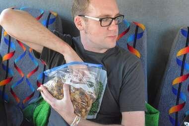DC Brew Bus snacks