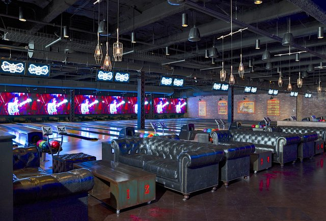 Is it a bar? A bowling alley? A badass music venue? Yes.