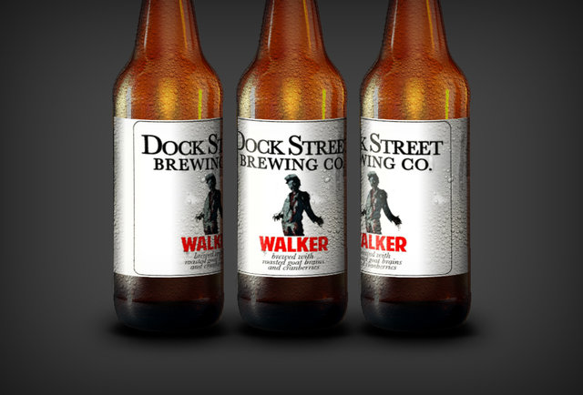 This Walking Dead-inspired beer is made with actual brains