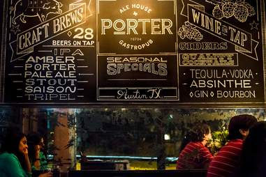 Porter Gastropub Winter Restaurant Roundup ATX