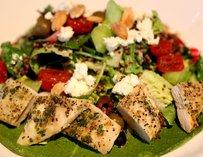 Mediterranean Qunoa Salad at Earls Dadeland