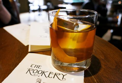 whiskey at rookery