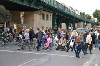 Crosswalk in Berlin