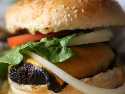 Keg burger