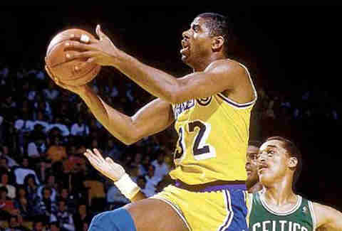 Magic Johnson. Wow.