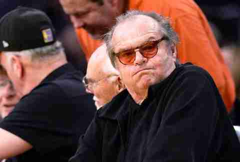 Jack Nicholson. Greatest Lakers fan ever?