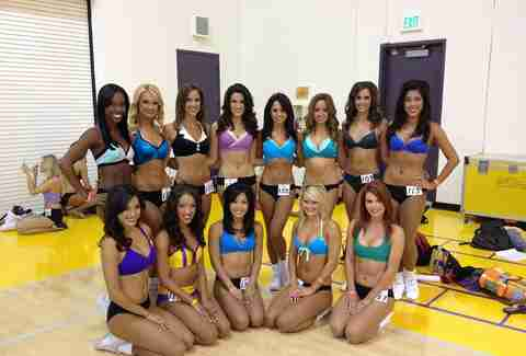 Laker Girls! Laker Girls! Laker Girls!