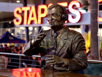 Chick Hearn is the man