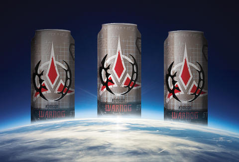 Star Trek Klingon Warnog beer