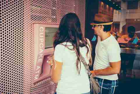 There is now a cupcake ATM in Midtown