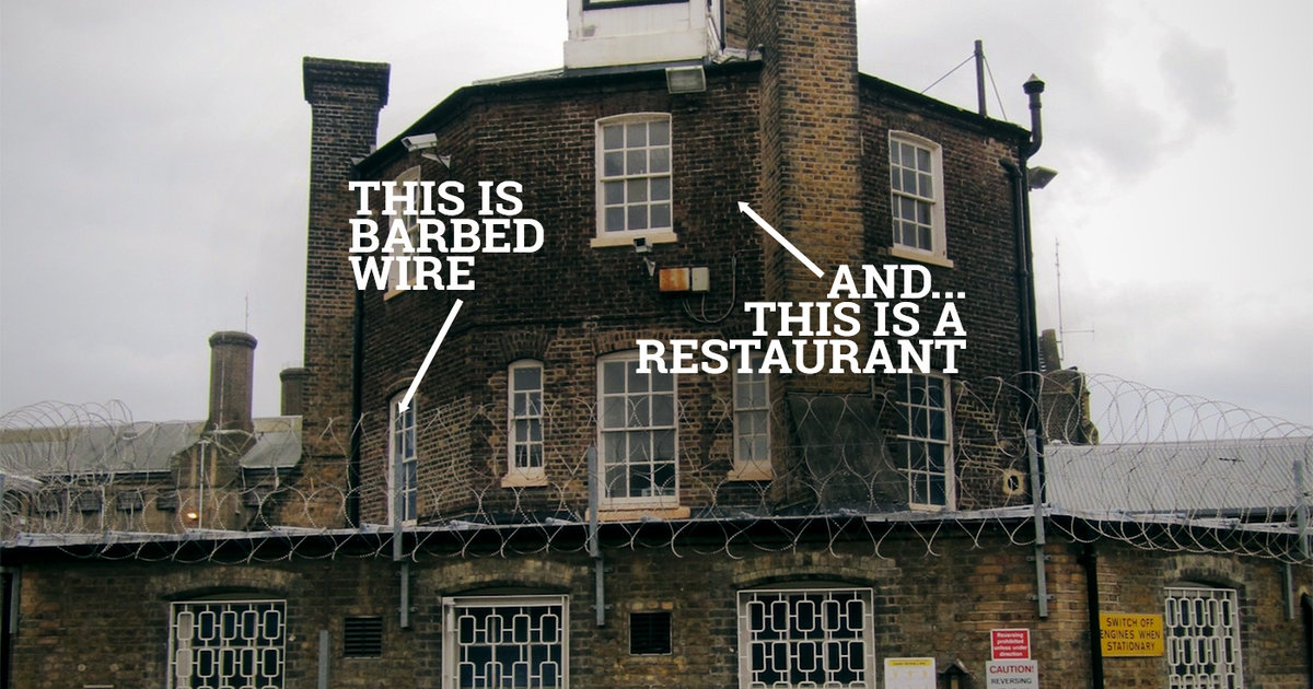 Clink Restaurant Inside London S Brixton Prison By The