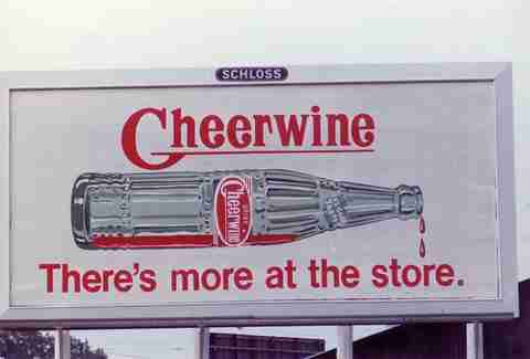 cheerwine billboard