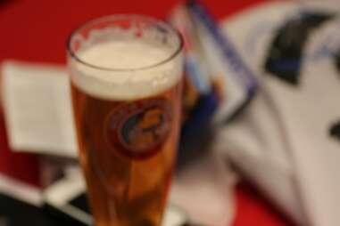 Blurry Duff Beer at Moe's Tavern at Universal Studios Orlando