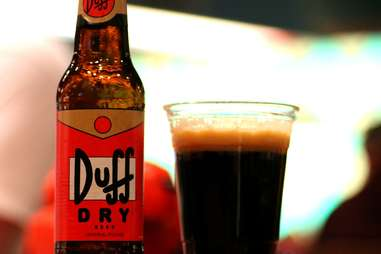 Duff Dry at Moe's Tavern at Universal Studios Orlando
