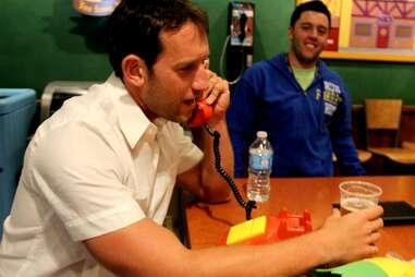 Prank phone call at Moe's Tavern at Universal Studios Orlando