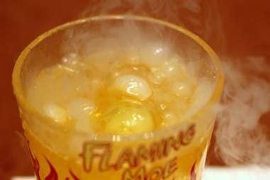 Flaming Moe at Moe's Tavern at Universal Studios Orlando