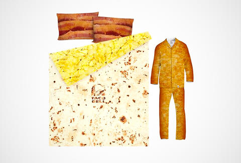 Taco Bell bedsheets