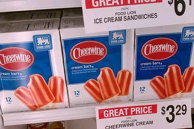 cheerwine cream bars