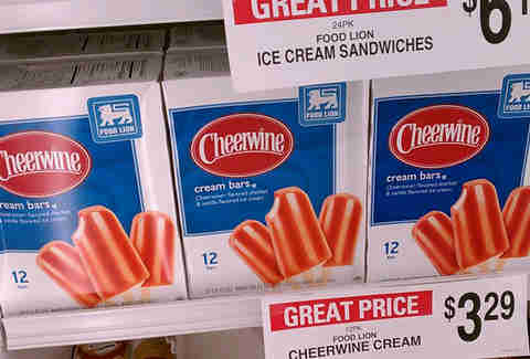 cheerwine cream bars