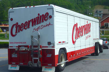 cheerwine delivery truck