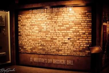 st valentines day massacre wall