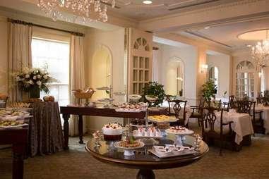 Brunch buffet at The Lafayette