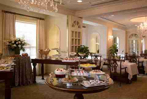 Brunch buffet at The Lafayette