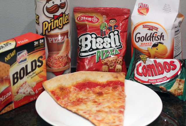 Do pizza-flavored snacks actually taste like pizza?