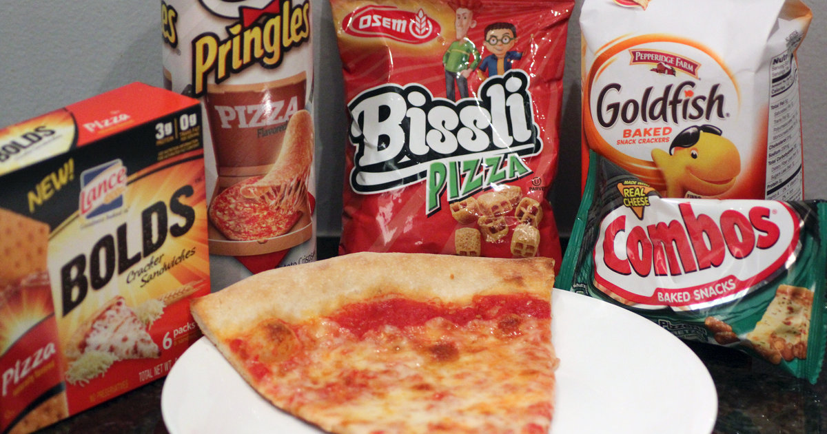 Pizza-Flavored Snacks - Do they taste like pizza? - Thrillist