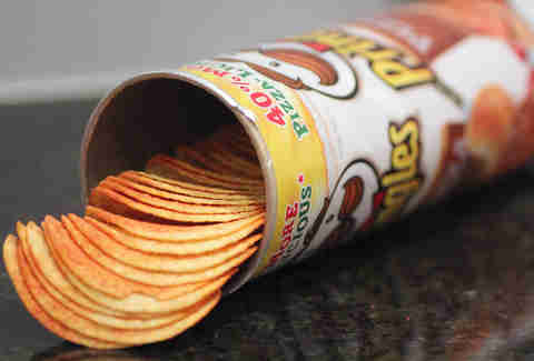 pizza-flavored pringles