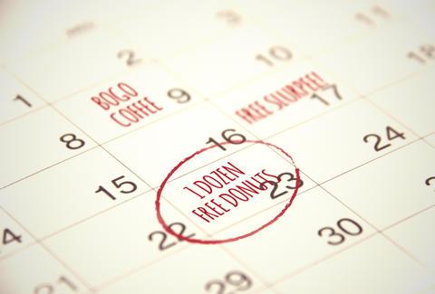Free Food Holidays - National Pancake Day, Free Slurpee Day