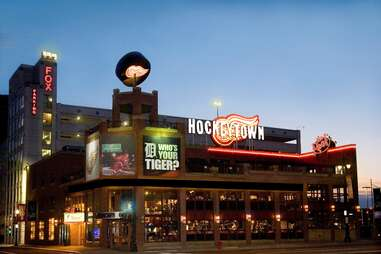 Hockeytown Cafe Best Tigers Bars DET
