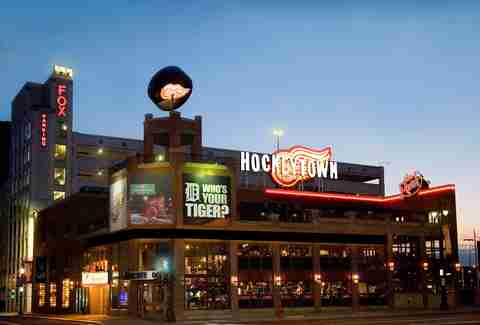 Hockeytown Cafe Best Tigers Bars DET