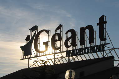 Geant sign