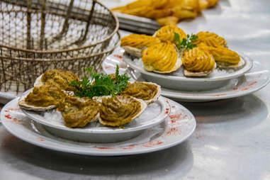 Oysters Rockefeller at Antoine's
