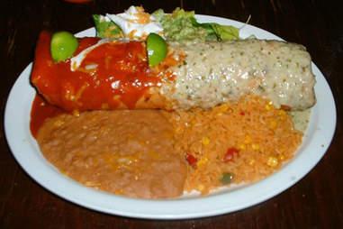 Chimichanga at El Charro Café