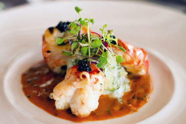 Lobster Newburg at Delmonico's