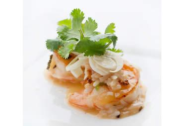 Shrimp Livornese at Jasper's