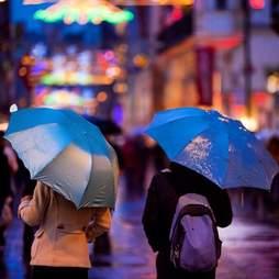 istanbul umbrellas