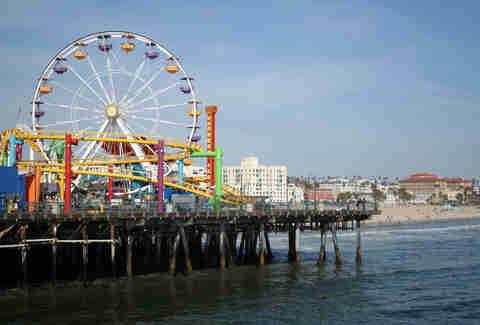La Pier Guide Santa Monica Hermosa Redondo Manhattan Beach