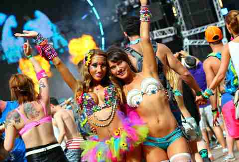 Image result for sexy girls at the ultramusicfestival""