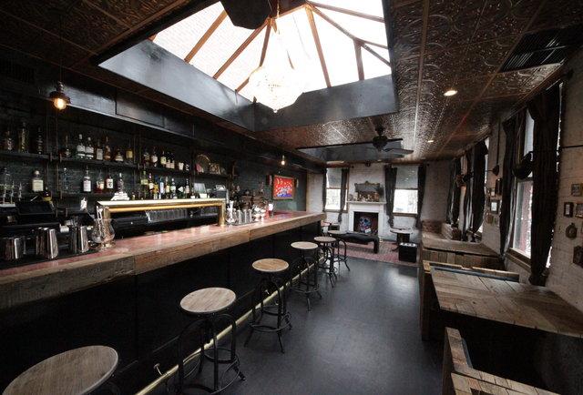 Five Guys West Village Bar The Garret Thrillist New York