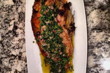 the manship whole grilled fish