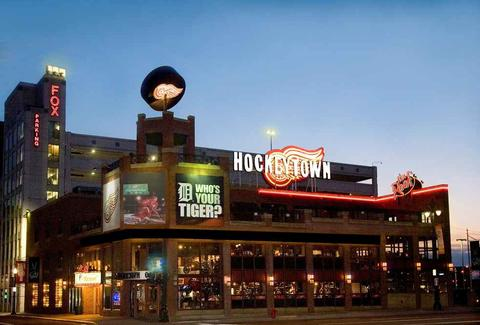 Hockeytown Cafe DET