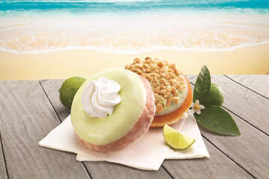 Krispy Kreme key lime pie donut